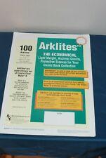 Comic Book Protective Sleeve Archival Arklites Quantity 5 Sleeves