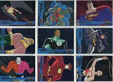 Justice League 2003 Complete Friends And Foes Chase Card Set FF1-18