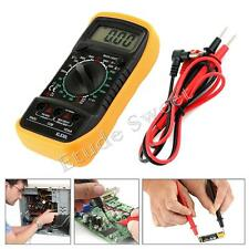 Digital LCD Multimeter Voltmeter Ammeter AC DC OHM Current Circuit Tester Buzzer