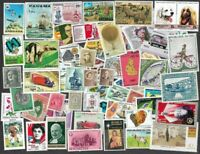 1000 World all mint different stamps collection-many countries-Old-Modern