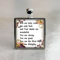 You are holy, Lord, the only God St. Francis of Assisi Prayer - Catholic Medal