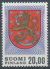 Finland 1978 MNH - 20mk Definitive stamp - Lion Type - Scott 470A