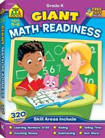 School Zone - Giant Math Readiness Workbook - Ages 5 and 6