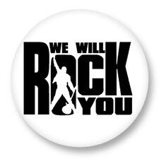 Magnet Aimant Frigo Ø38mm Queen Freddie Mercury We Will Rock You