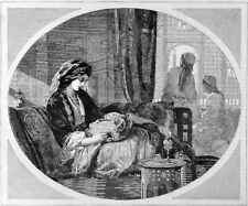 XARIFA - FRANK WYBURD 1863 William Luson Thomas VICTORIAN ENGRAVING