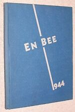 1944 North Baltimore High School Yearbook Annual N Baltimore Ohio OH - En Bee