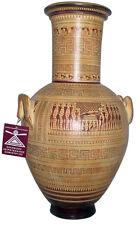 Ancient Greek Geometric Funeral Vase Museum Replica Reproduction