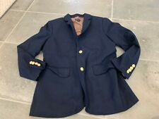 CREWCUTS THOMPSON WOOL BLEND NAVY BLUE BLAZER SPORTCOAT SZ 12