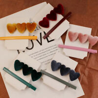 Heart Hair Clip Barrette Love Hairpin Stick Bobby Fashion Hair Accessories