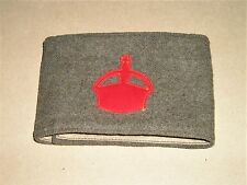 More details for world war one 'lord derby-scheme' khaki armband of 1915 in ex-stores condition..