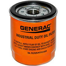 Generac 070185B Oil Filter 75mm (Orange)