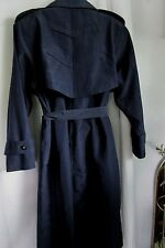 """""""JUNIOR GALLERY""""TRENCH COAT/LAPELS IN FRONT/ SIZE 9-10 SOLID/DOUBLE BREASTED"""