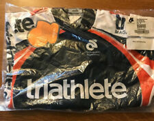 Triathlete Magazine Cycling Jersey Mens M new in bag