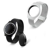NEW Luxury Steel Wristband Strap Bracelet Sleep Fitness Monitor For Misfit Shine