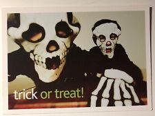 """Halloween Trick or Treat Vintage """"finden Sie bei eBay"""" Werbung Postkarte"""