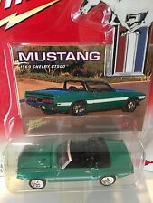 Johnny Lightning 1:64 Scale 1969 Ford Mustang Shelby  GT500