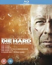 Die Hard 1 2 3 4 5 Legacy Collection One Two Three Four Five Region B Blu-ray