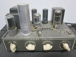 Stromberg & Carlson AR37A Vintage Amplifier