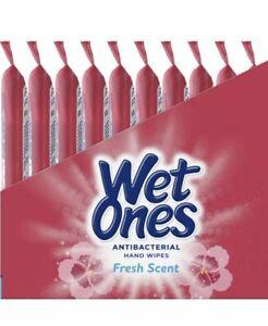 Wet Ones Hand Wipe s, 20 Count Pack Of 10