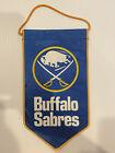 Vintage NHL Buffalo Sabres Banner / Pennant / Flag Old Hockey Team Logo
