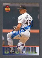 1994 DONRUSS #164  Doug Brocail  SAN DIEGO PADRES  SIGNED AUTOGRAPH AUTO COA