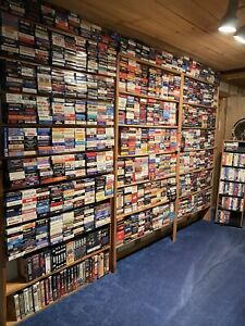 VHS LARGE LOT OF MOVIES Pick 10 for $18 or MAKE OFFER ON ALL