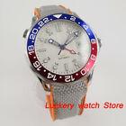 41mm Bliger Men watch GMT bezel sapphire glass Automatic mechanical watches