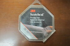 3M 72257 Scotchcal Striping Tape, Light Blue Metallic, 1/4 in x 150 ft