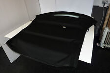 VW BEETLE HOOD IN BLACK MOHAIR WITH REAR HEATED WINDOW RRP £802 - MANUAL HOOD