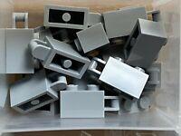 Lego 4x Brick Brick Modified 1x2 Handle Handle Grey// Light B Gray 26597 New