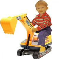 Allkindathings  Children's Ride On Walker Push Along Excavator 2-in-1 Digger...