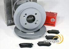Hyundai Accent 4IV - zimmermann Discos de Freno Zapatas Para Trasero