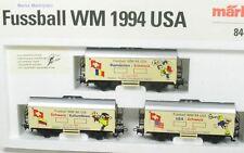 H0 3-tlg carrelli di raffreddamento Set Svizzera scelta, Mondiali calcio 1994 USA Märklin 84416,6 NUOVO OVP
