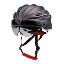 Adult Mens Womens Youth Cycle Helmet Adjustable and Bicycle Bike Visor Grey