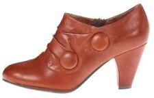 Zip Leather Medium Width (B, M) Block Boots for Women