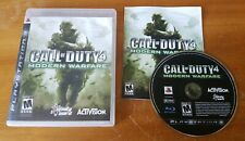Call of Duty 4: Modern Warfare (Sony PlayStation 3, 2007) ps3 game mw COMPLETE