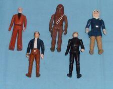 vintage STAR WARS FIGURE LOT #74 Chewbacca Ben Kenobi Han Hoth Bespin Luke Jedi