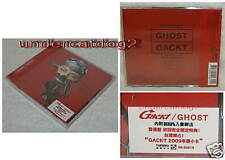 Japan Gackt GHOST 2009 Taiwan Ltd CD+ Calendar Card