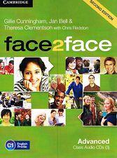 CAMBRIDGE Face2face Advanced SECOND EDITION Class Audio CD's 2013 Level C1 @NEW@