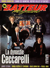 Batteur Magazine N°66 - La Dynastie Ceccarelli - Mars 1994