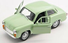 BLITZ VERSAND Syrena 105 FSM helgrün Welly Modell Auto 1:34 NEU & OVP