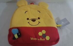 Disney Winnie the pooh, Kid's Backpack 20x20cm, Yellow & Red, Authentic $39.00