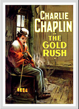 A3 - Charlie Chaplin The Gold Rush Movie Film Cinema wall Home Posters Art #10