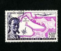 Somali Coast Stamps # C20 VF Used Catalog Value $50.00