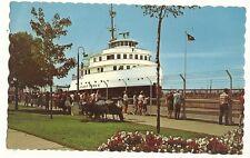 Henry Ford II MacArthur Lock Soo Locks Sault Ste Marie MI Michigan Cargo Ship