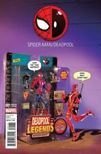 SPIDER-MAN / DEADPOOL ISSUE 1 - SOLD OUT ACTION FIGURE PHOTO VARIANT COVER