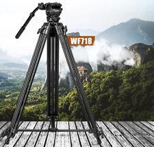 Heavy Duty 1.8M Professional Tripod Weifeng 718 Video Camcorder DSLR Cam Studio