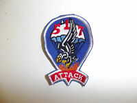 b1104 WW 2 US Army 517th Parachute Infantry Regiment patch Attack cotton red R3C