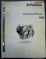 Perkins 1000 Series Engines Factory Service Manual - AJ-AS and YG-YK Models