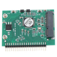 mSATA SSD To 44 Pin IDE Adapter mSATA IDE converter Card 2.5 Inch IDE HDD CO